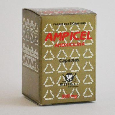 Ampicel Capsulas 500mg
