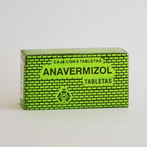 Anavermisol Tabletas