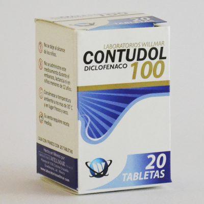 Contudol 100 Tabletas