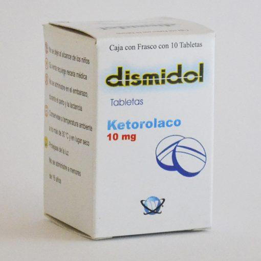 Dismidol Tabletas 10mg