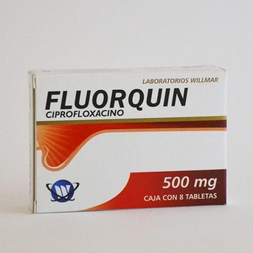Fluorquin 500mg Tabletas