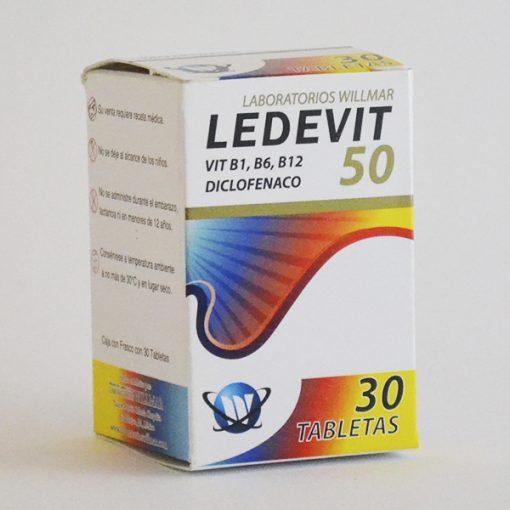 Ledevit 50 Tabletas