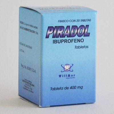 Piradol Tabletas 400mg